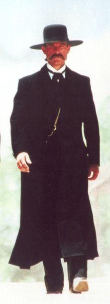 Wyatt Earp clipart vector Earp outfit tombstone  IS