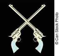 Wyatt Earp clipart vector Stock All Art Buntline The