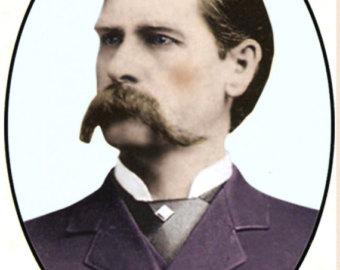 Wyatt Earp clipart vintage Earp sided by earp finish