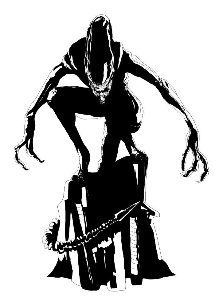 Xenomorph clipart Woodward best Predator 362 about