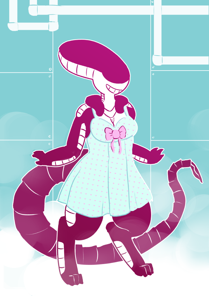 Xenomorph clipart anthro Breasts e621 thick_thighs female alien