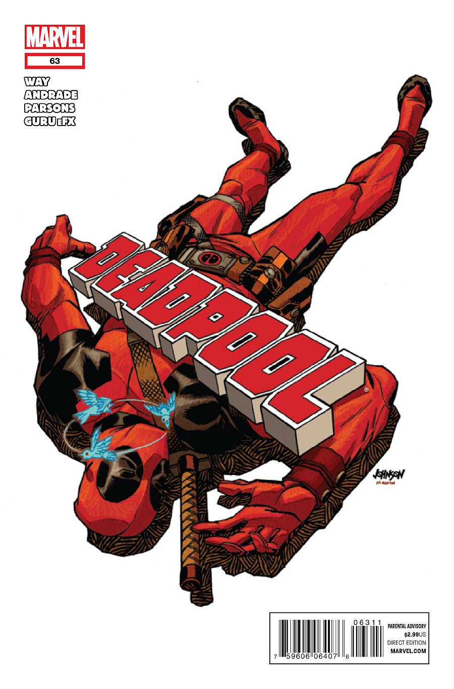Xenomorph clipart deadpool Cover  Deadpool Lido Story