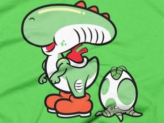 Xenomorph clipart deadpool T Mario GeekAlerts Alien Shirt