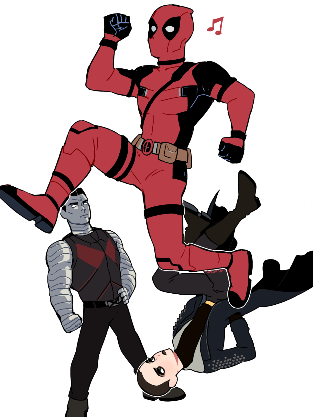 Xenomorph clipart deadpool Negasonic Deadpool Teenage Colossus Warhead