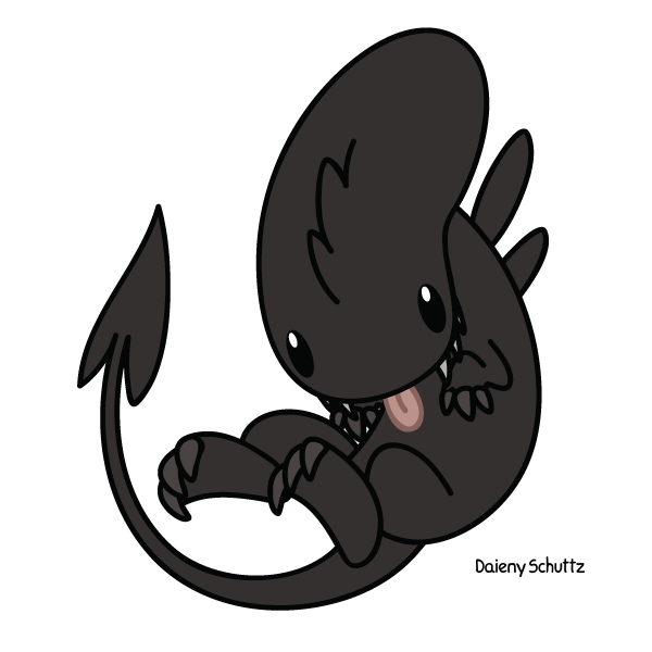 Xenomorph clipart deviantart By deviantart com Alien Daieny