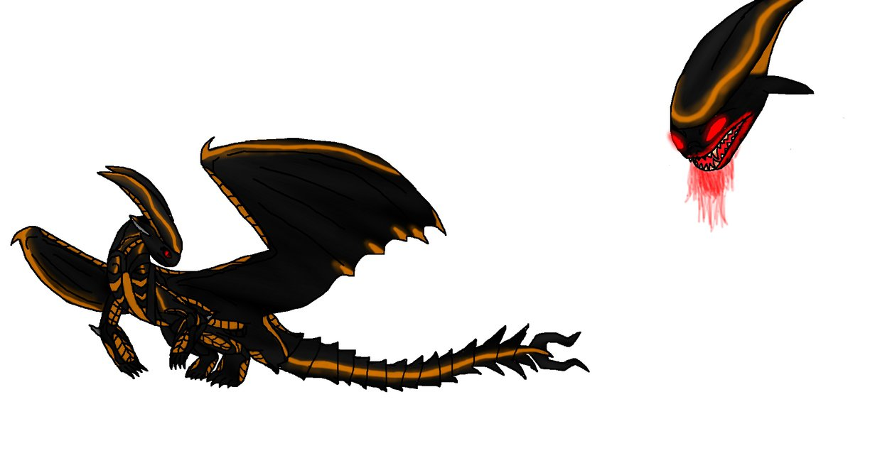 Xenomorph clipart dragon The Xenomorph by EternityOfNightmares on