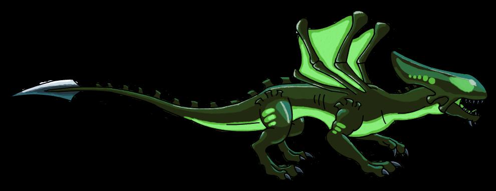 Xenomorph clipart dragon Acid by Alien Alien by