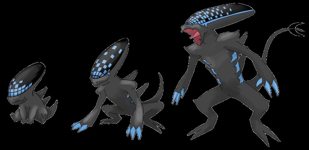 Xenomorph clipart dragon Pokemon Iakop Xenomorph DeviantArt Xenomorph