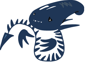 Xenomorph clipart fish By DeviantArt Blue on The