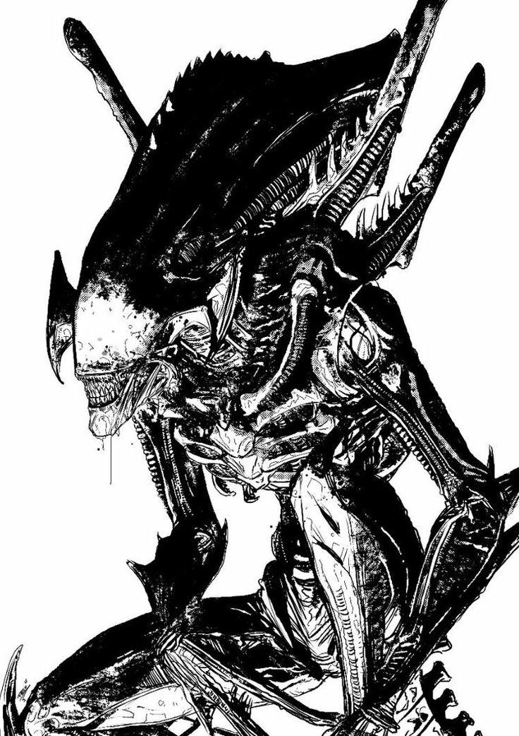 Xenomorph clipart praetorian Best 412 Pinterest aliens Praetorian
