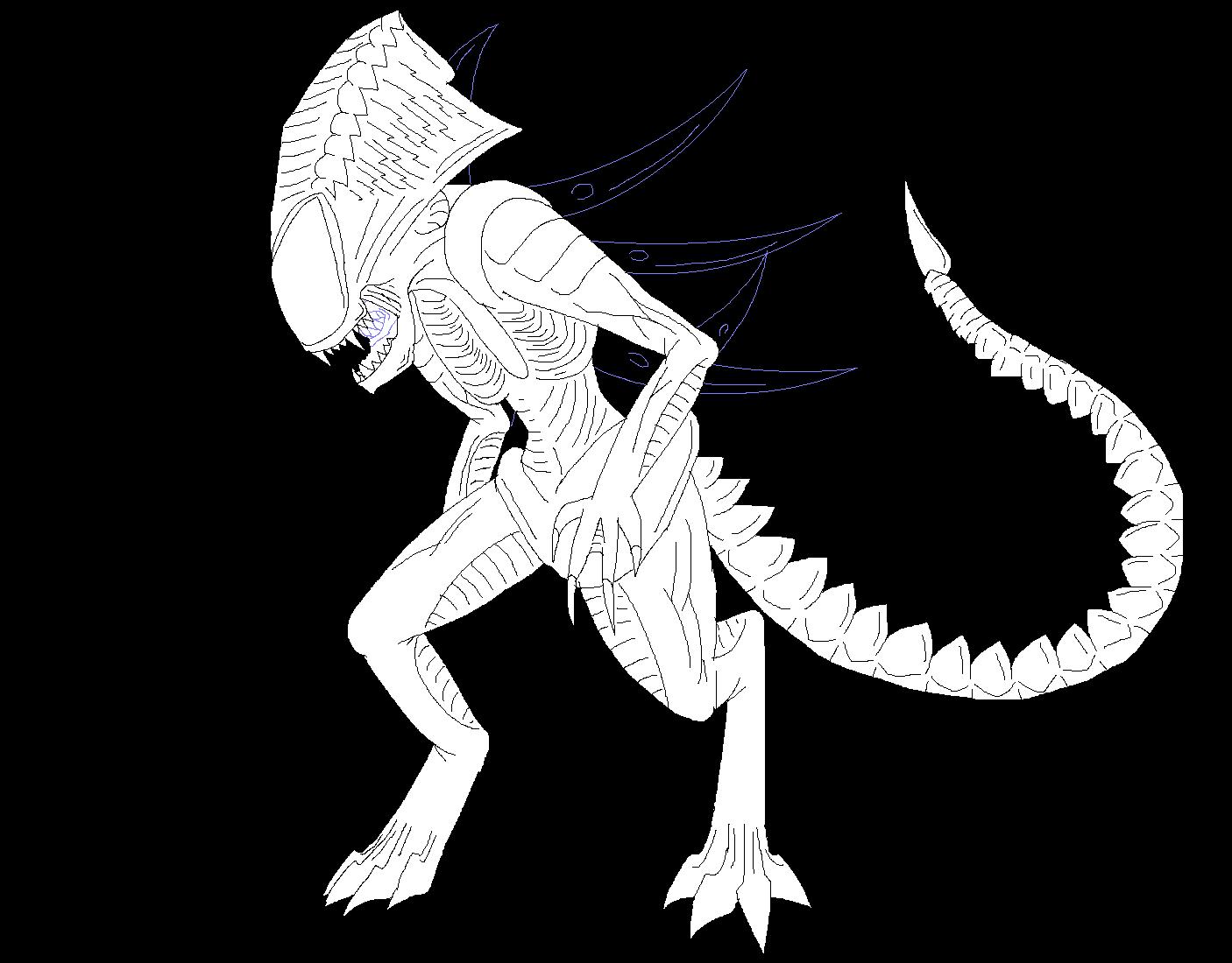 Xenomorph clipart praetorian And Xenomorphs In on by