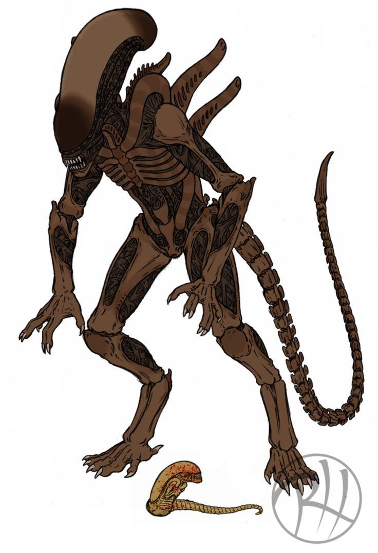 Xenomorph clipart praetorian About mother images predators/aliens Pinterest