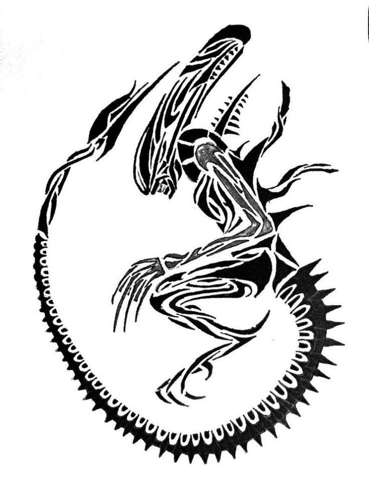 Xenomorph clipart proto On http://cyrusbodyart 210 monsite ALIEN