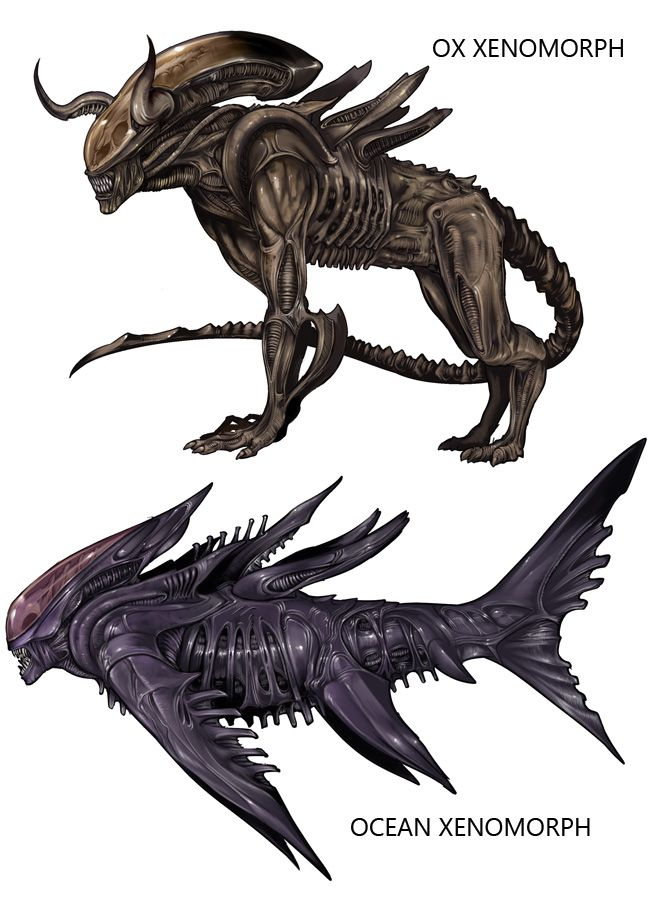 Xenomorph clipart proto On images Xenomorph Aliens Ox