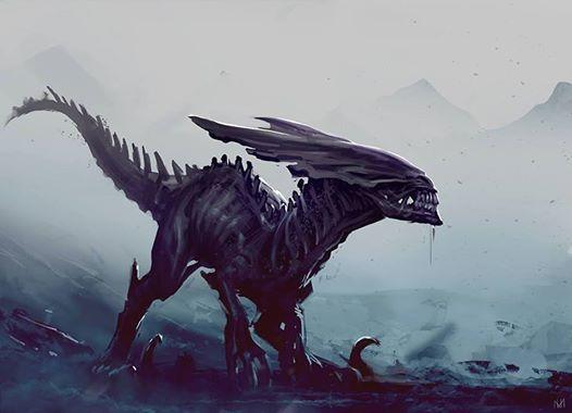 Xenomorph clipart raptor On Raptor 25+ Nagy Xenomorph