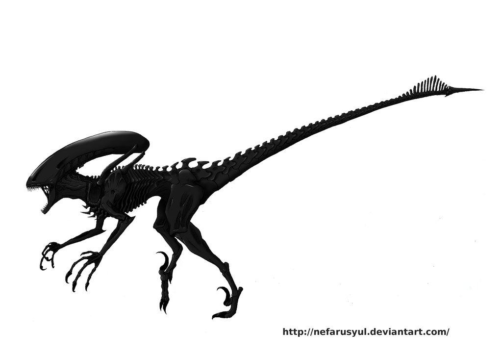Xenomorph clipart raptor 153 DeviantArt Explore Raptor Trueform