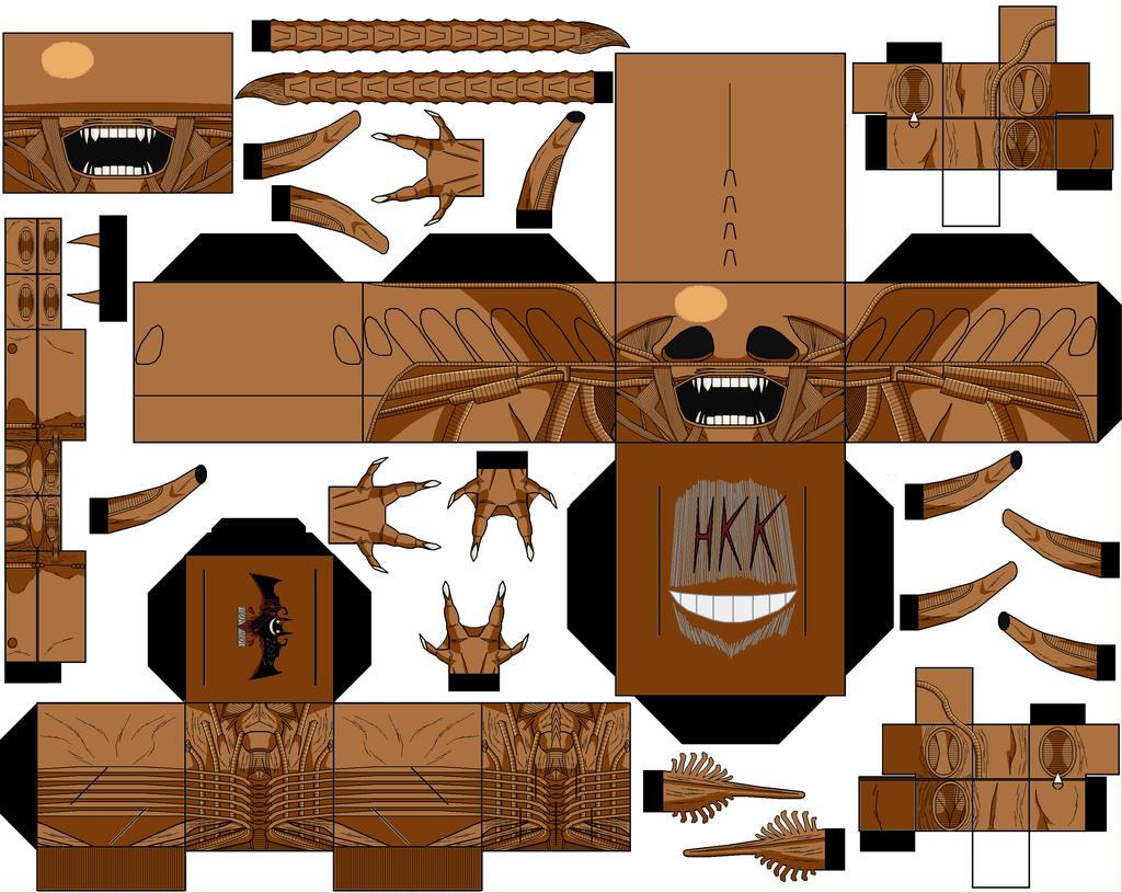 Xenomorph clipart six Hollowkingking Xenomorph by hollowkingking Jock