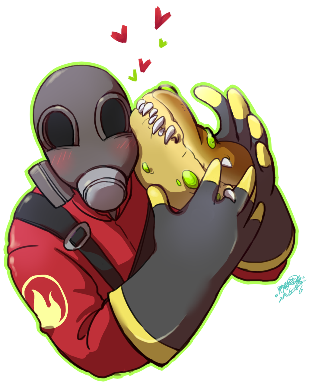 Xenomorph clipart team fortress 2 By favourites  on Team