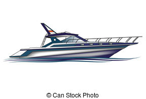 Yacht clipart water vehicle 107  Luxury Yacht royalty