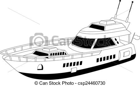 Yacht clipart luxury yacht A yacht luxury Luxury Illustration