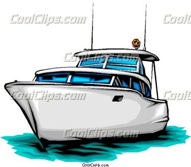 Yacht clipart vector Boat art Panda Pleasure Clipart
