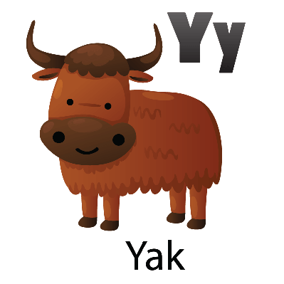 Yak clipart #6