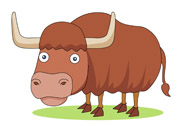 Yak clipart animated Brown Kb Free yak Graphics