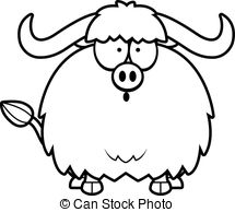 Yak clipart animated Surprised of cartoon Cartoon