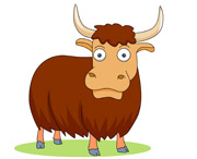 Yak clipart animated Animation Animals Search Size: Pictures
