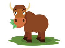 Yak clipart animated Yak Free Yak clipart Illustrations