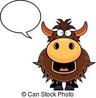 Yak clipart animated  Cartoon Cartoon illustration Yak