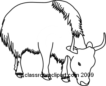 Yak clipart black and white Clipart 20clipart Yak Clipart Images