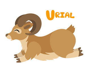Yak clipart urial Urial sheep letter ilustration Buscar
