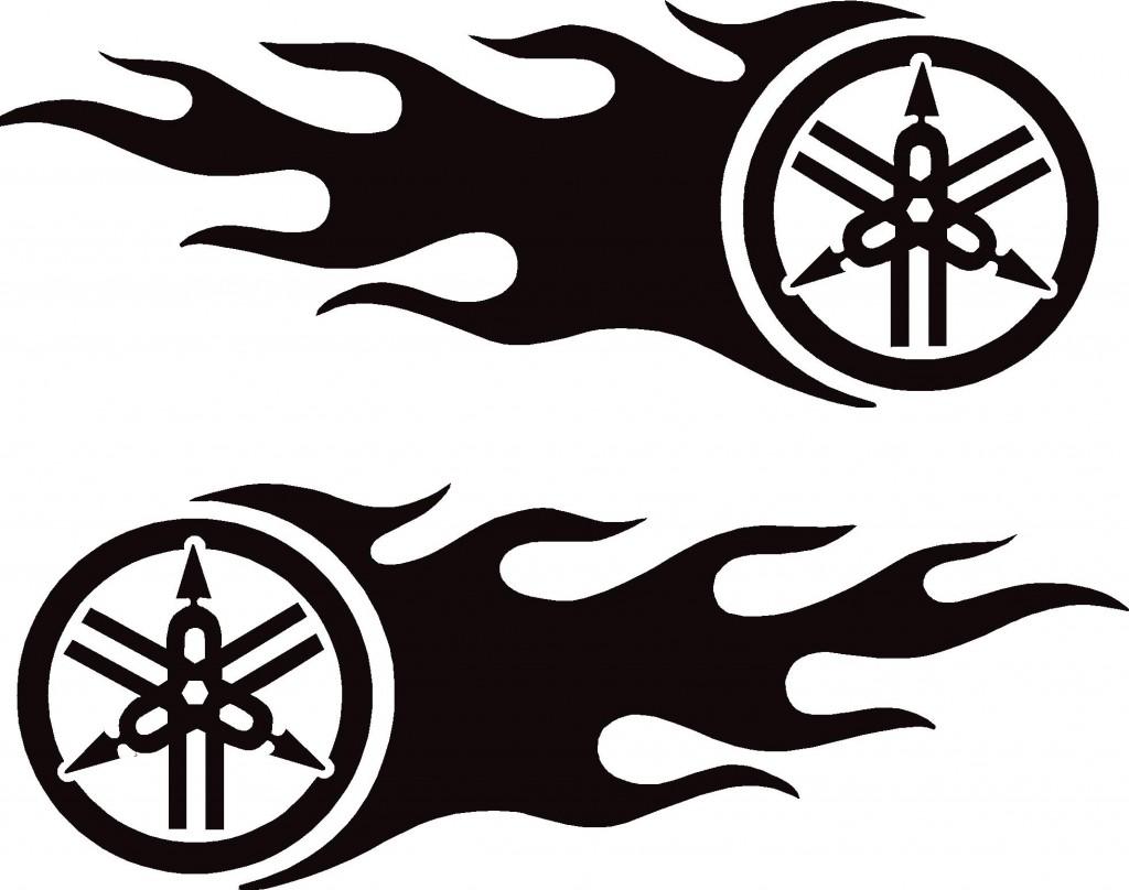 Yamaha clipart Graphics Bike Art Clip Designs