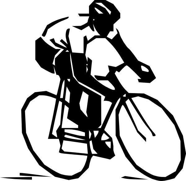 Biker clipart vector  clip Rider art free