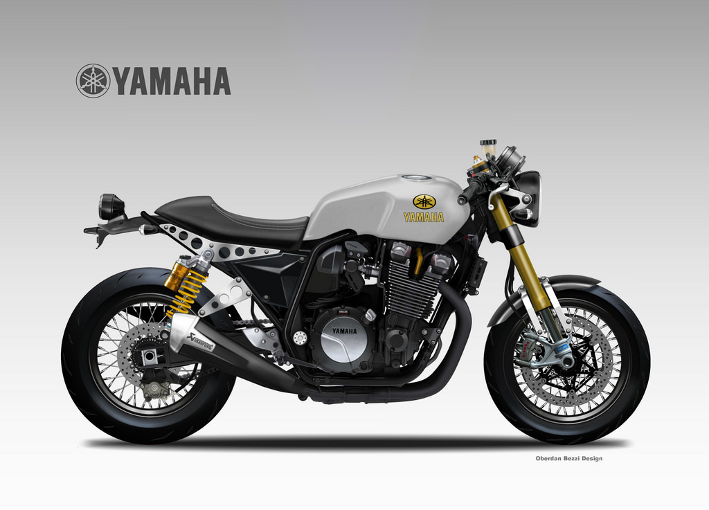Yamaha clipart cafe racer Motorcycle  RocketGarage Choice Cafe