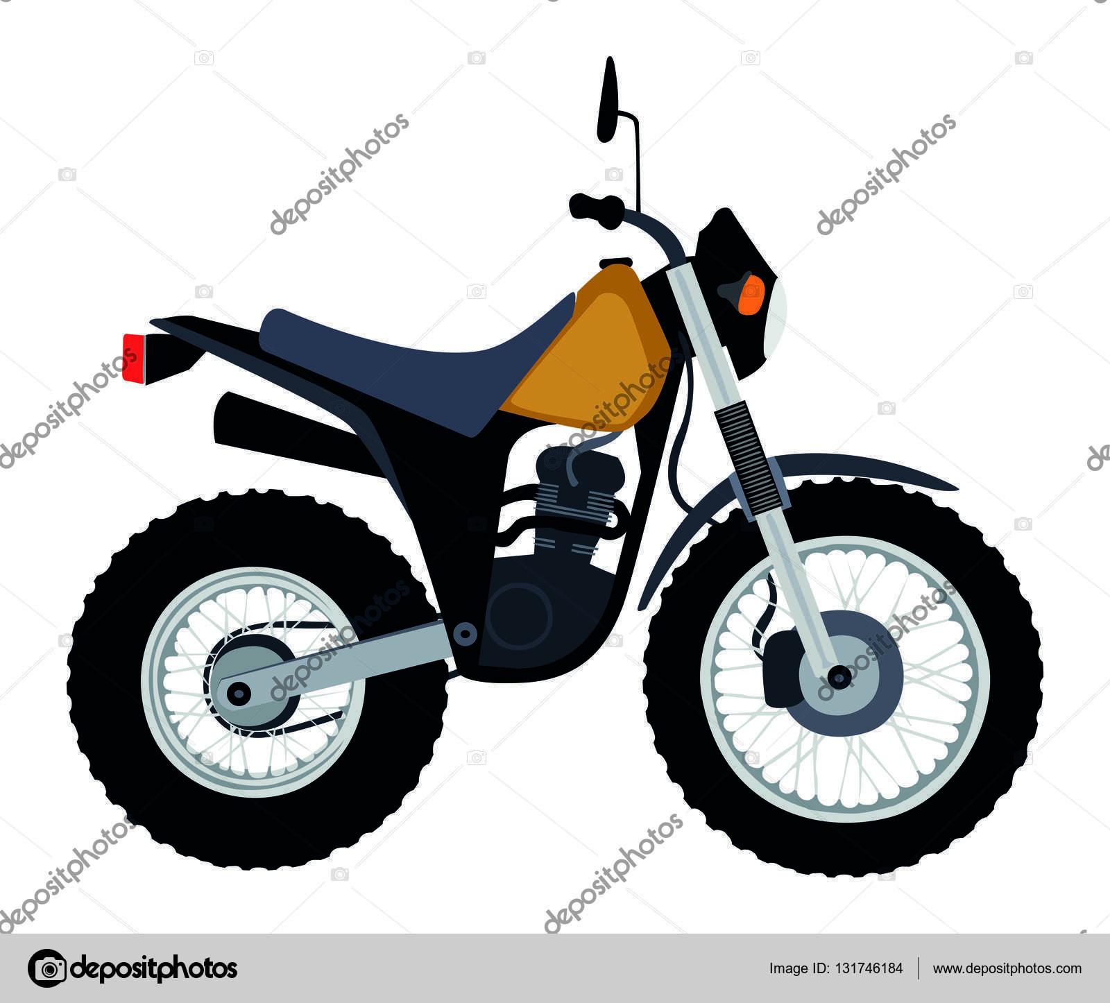 Yamaha clipart dirt bike Yamaha — Vector TW #131746184