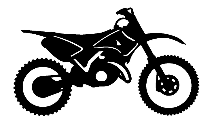 Yamaha clipart dirt bike Download Sport Cliparts of clipart