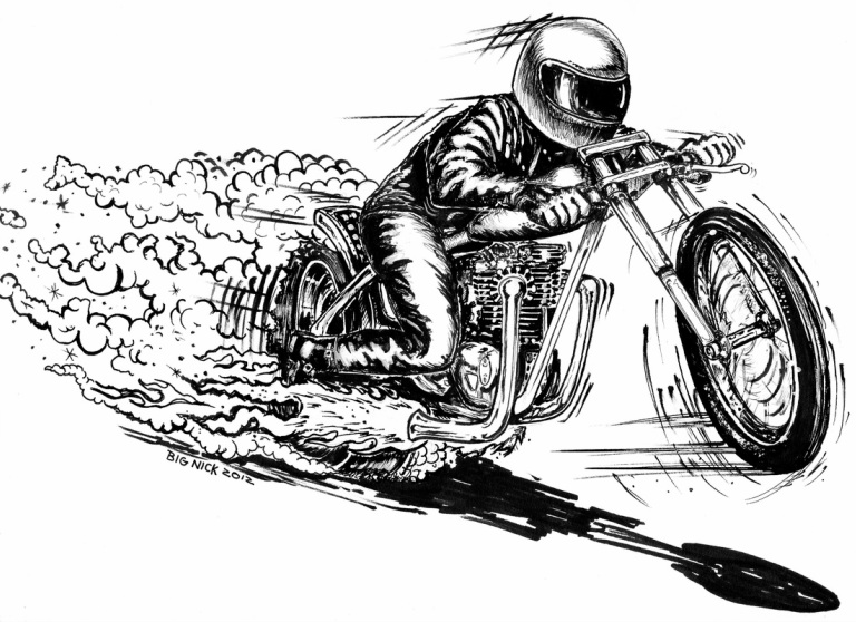 Yamaha clipart drag racing Drag Pinterest Motorcycle Art Art