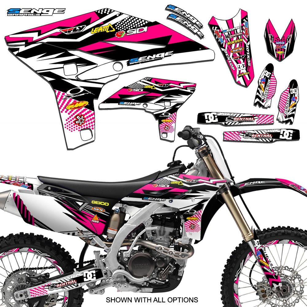 Yamaha clipart fox racing About DECALS 2016 2017 2014