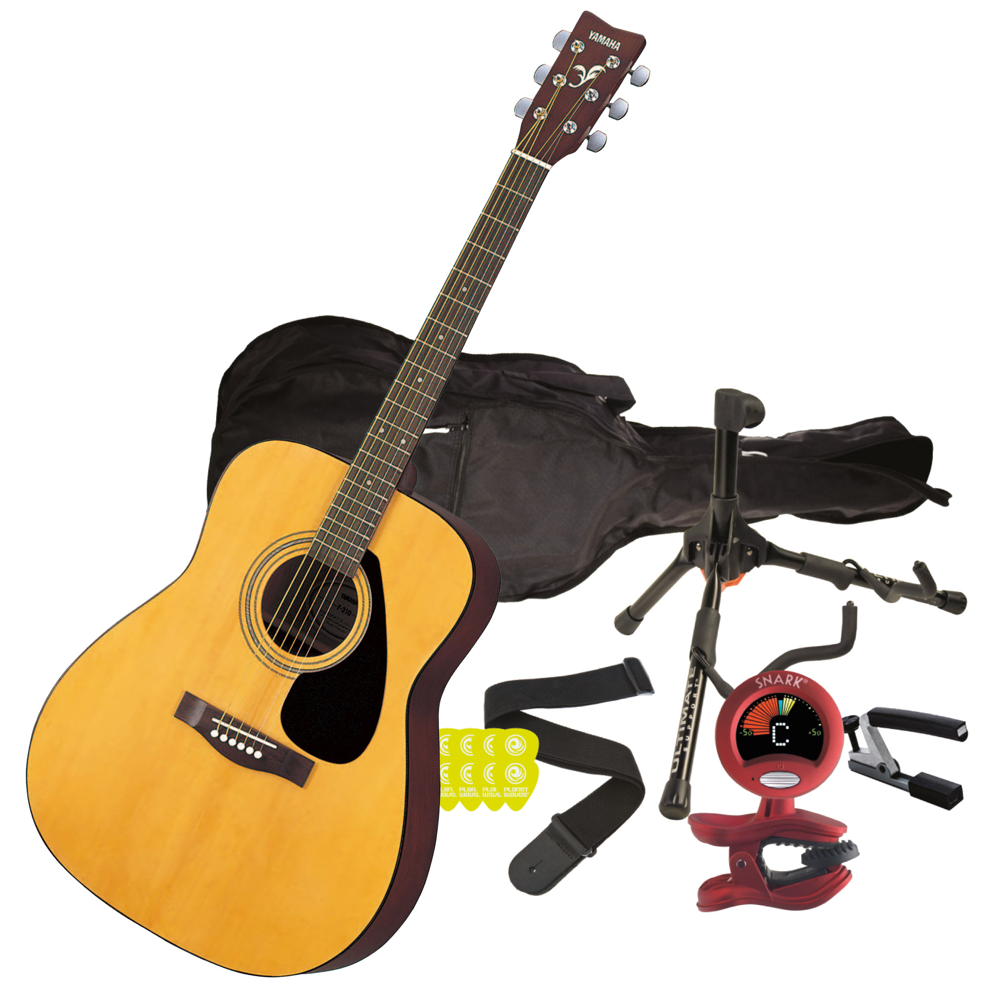 Yamaha clipart instrument Natural F310 Guitar Wood Package