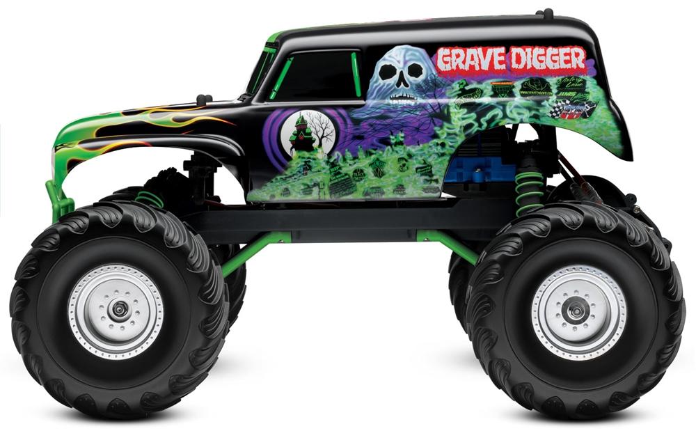 Yamaha clipart monster truck tire Jam 1/10 Digger: Monster Traxxas