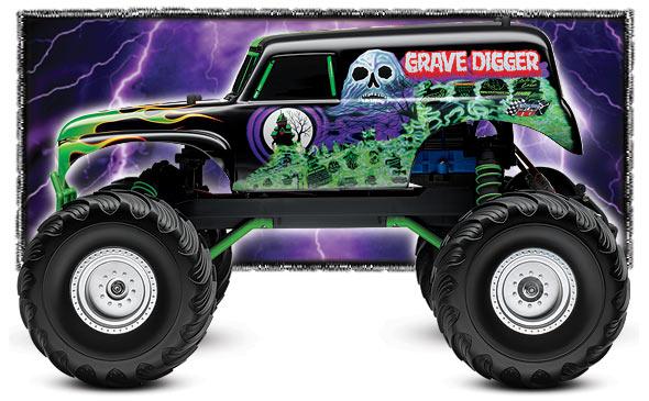 Yamaha clipart monster truck tire Jam 1/10 Digger: Traxxas Traxxas