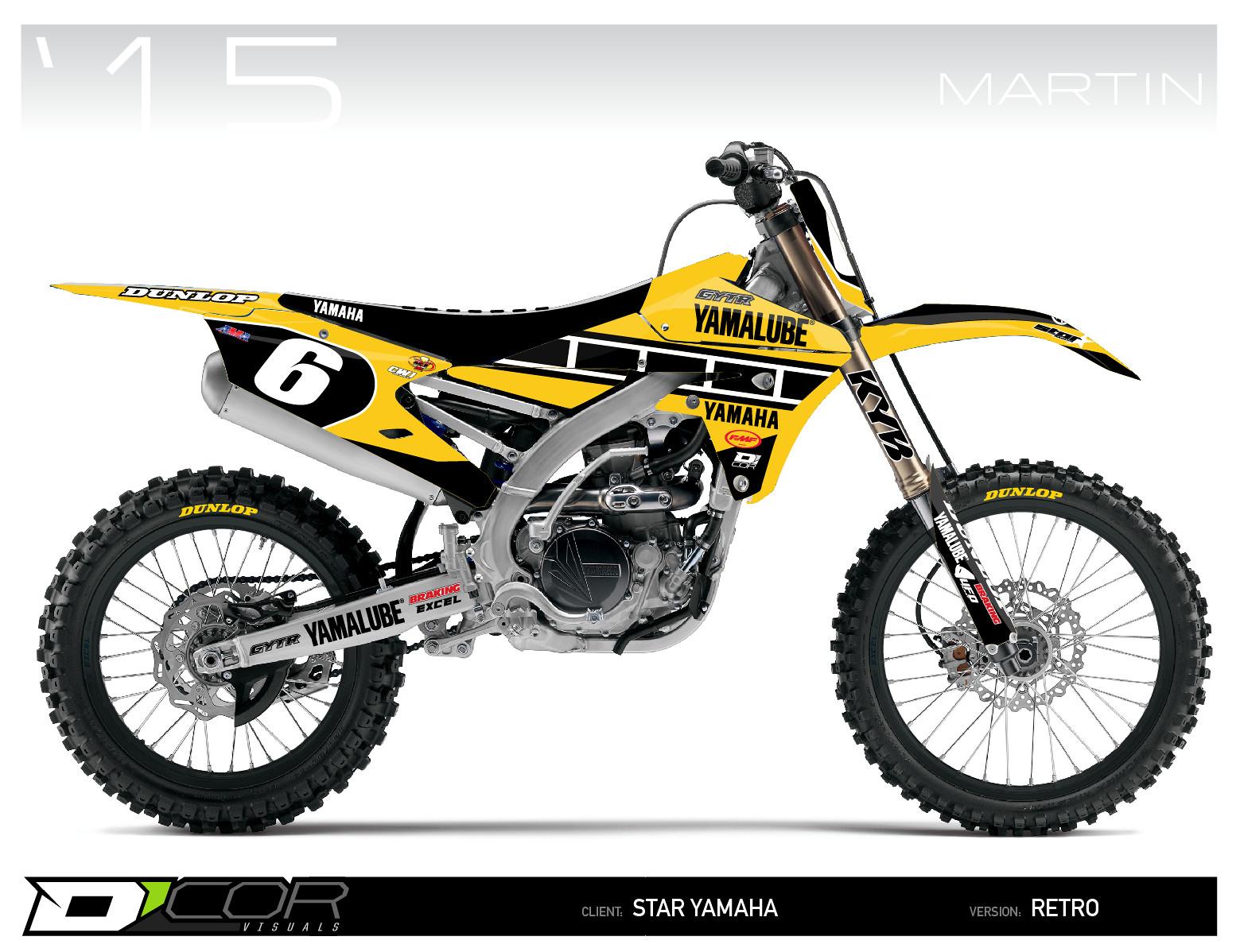 Yamaha clipart motocross Yamaha MX Star moto Zone