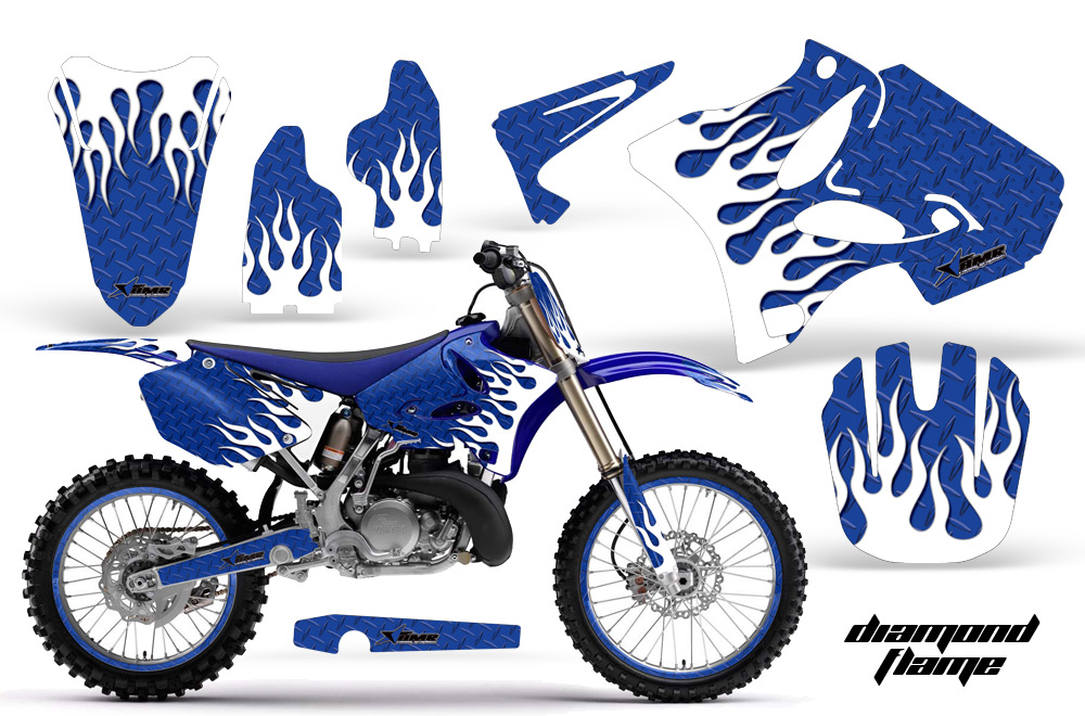 Yamaha clipart motocross 19 YZ250 1 Sticker Motocross