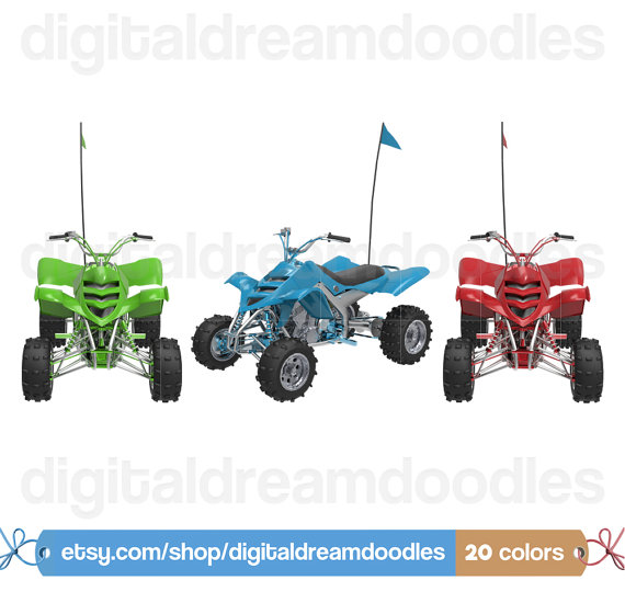 Yamaha clipart quad bike All All Clipart Clipart
