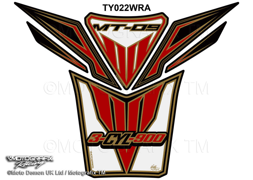 Yamaha clipart red Protector White 2015 Gel 09