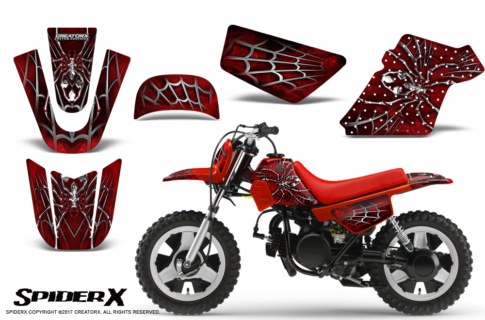 Yamaha clipart red SPIDERX 1990 2016 eBay PW50