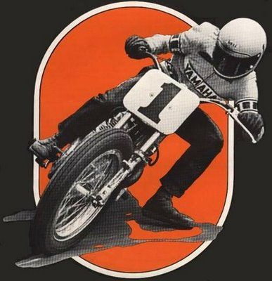 Yamaha clipart speedway On 1970's images Motorcycles best