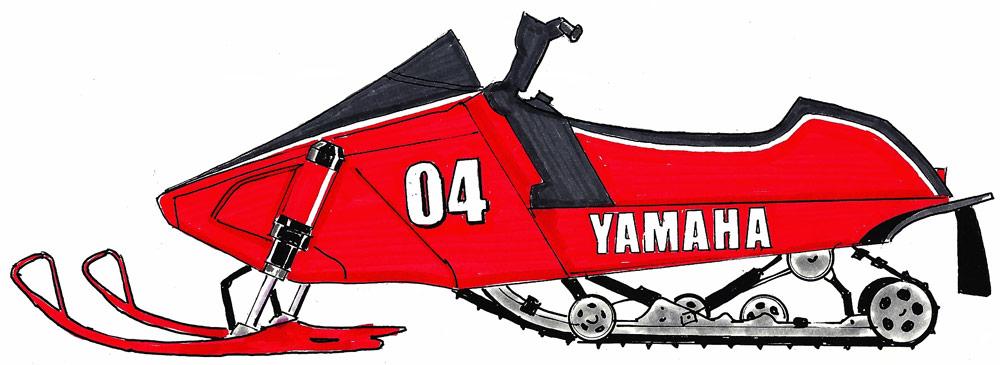 Yamaha clipart speedway  Yamaha Racing ~ Vintage